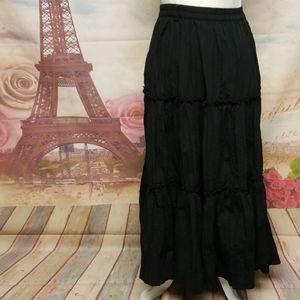 Isaac Mizrahi for target maxi skirt